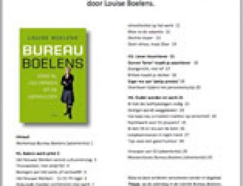 Sterk in je werk – Louise Boelens