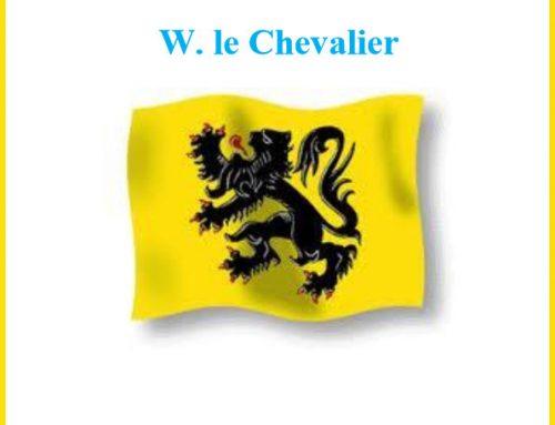 De ontdekking van de rasechte vlaming – W. le Chevalier