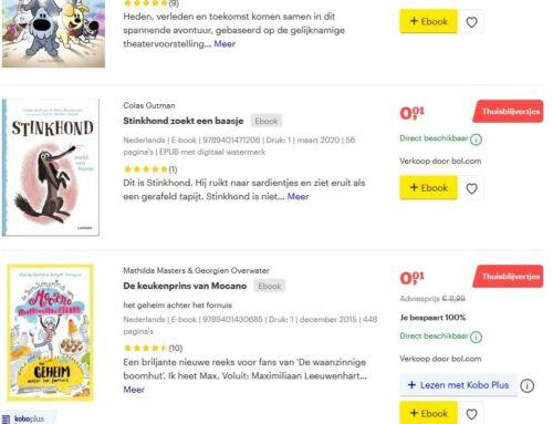 Vele boeken voor 1 cent nu bij Bol.com